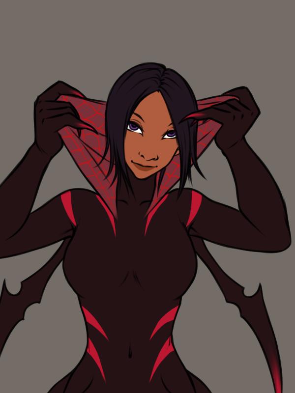 Most recent image: Widow: peekaboo