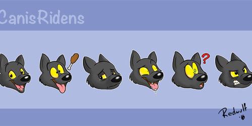 Canis Ridens Telegram Stickers