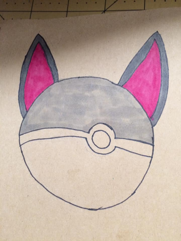 cat pokeball