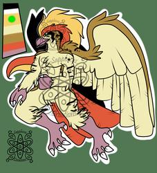 Noble Male Pidgeot +Design+  (SOLD)