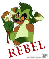 Rebel December Badge