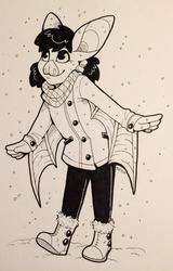Inktober 4 - Bat