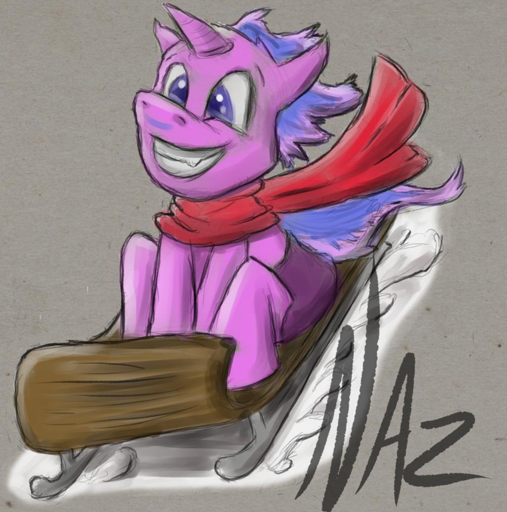CrazyMatt Sledding Ponies