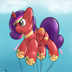 Alicorn Parade Balloon by Pon