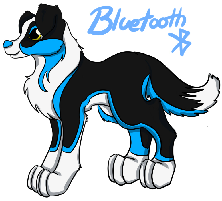 Bluetooth puppy