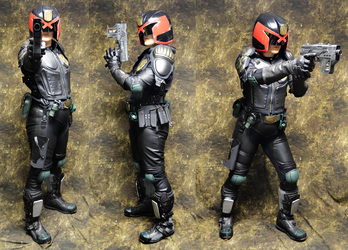 Female Judge - Dredd cosplay 2