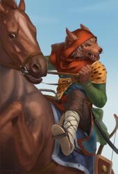 Brave rider