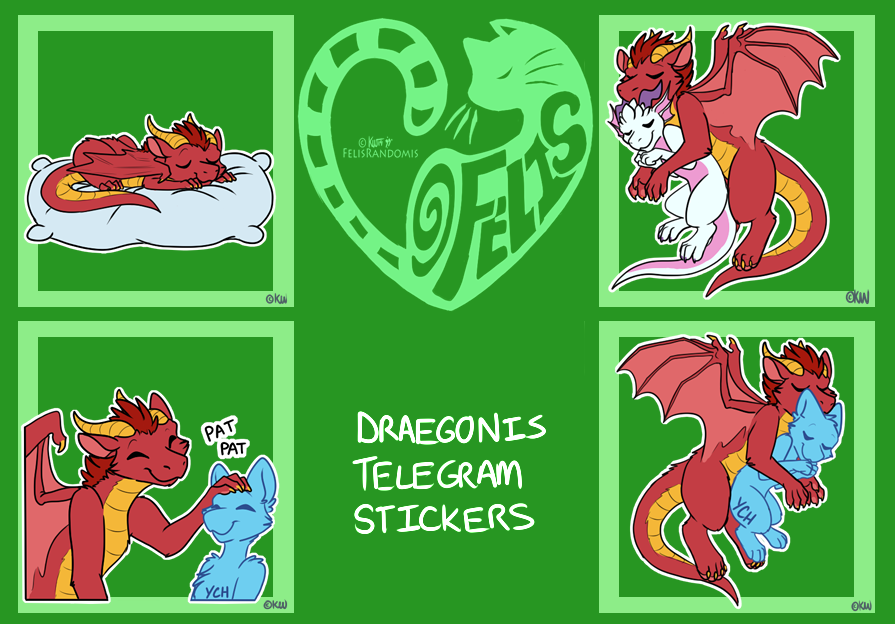 Draegonis Telegram Stickers 2