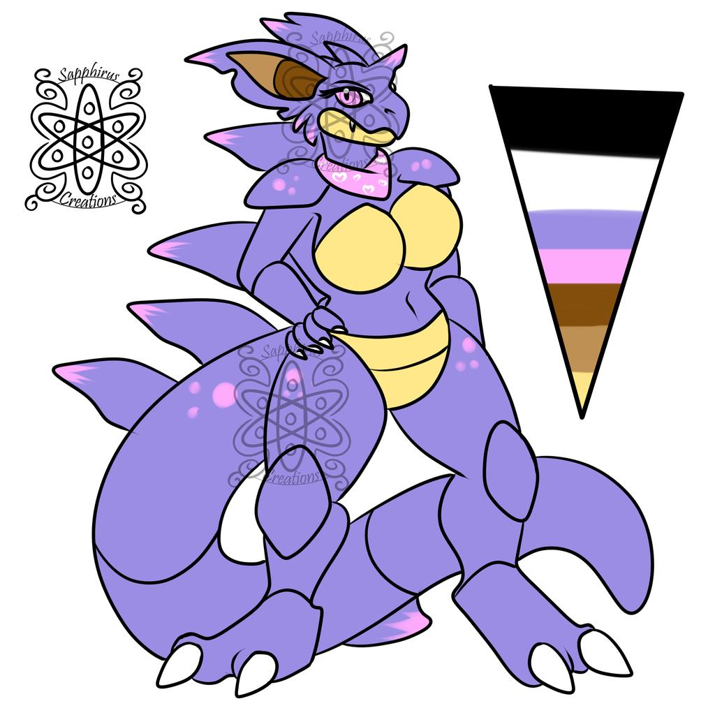 Female Nidoqueen 3 +Design+ (SOLD)