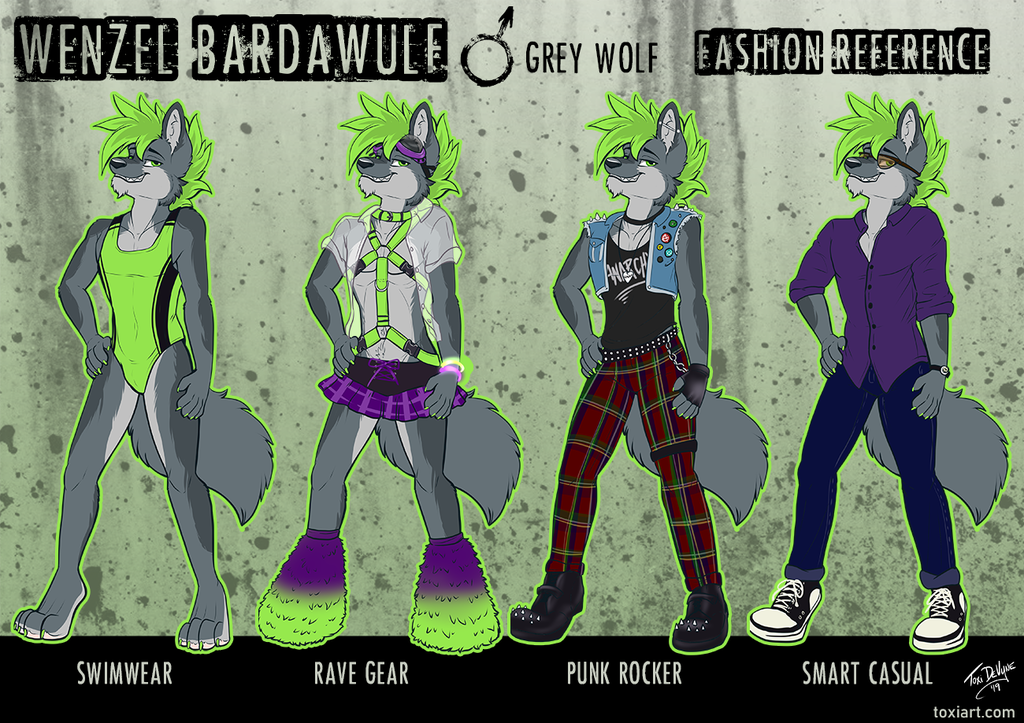 Wenzel Bardawulf Fashion Reference By Toxi De Vyne
