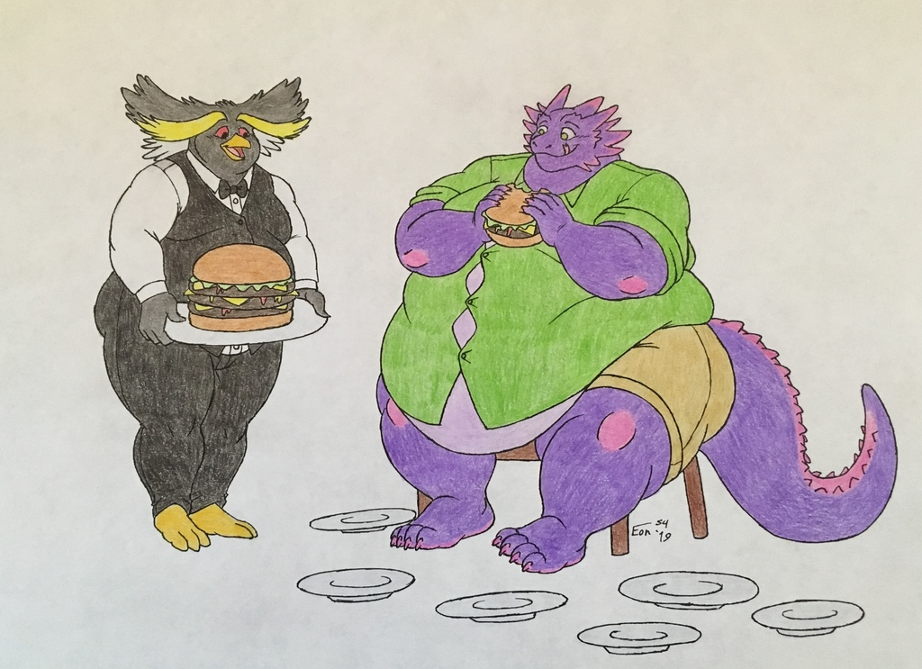 Big Burger for Big Lizard
