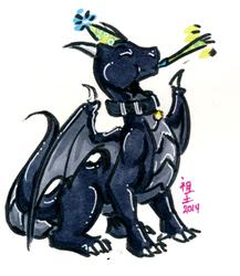 [patreon rewards] 1$ bday dragon