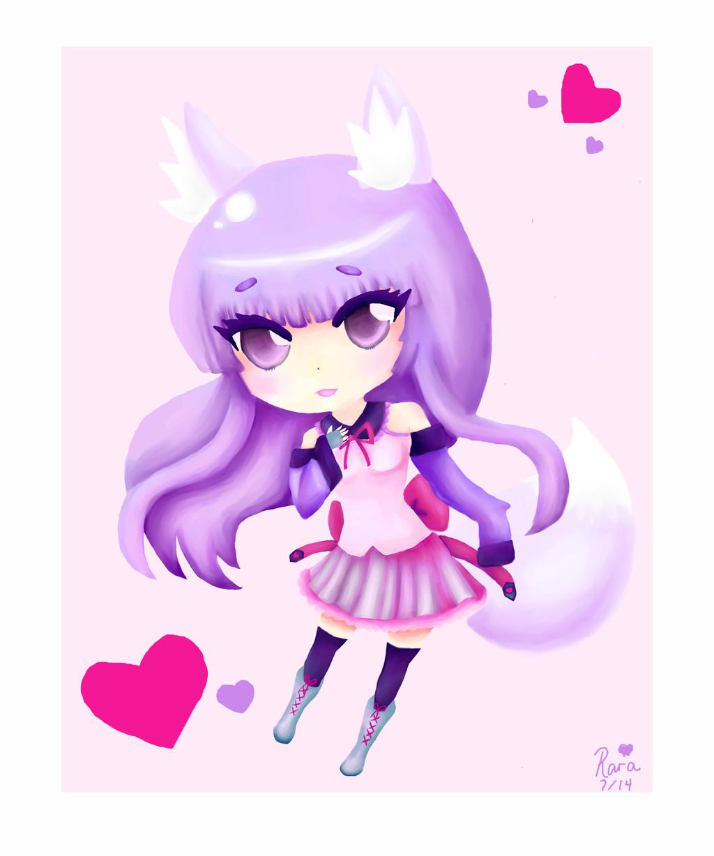 Rara-Hime Fox Girl