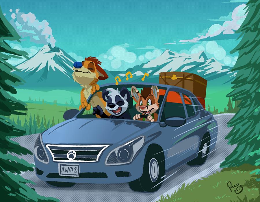 Viernes Furry: Puebla RoadTrip