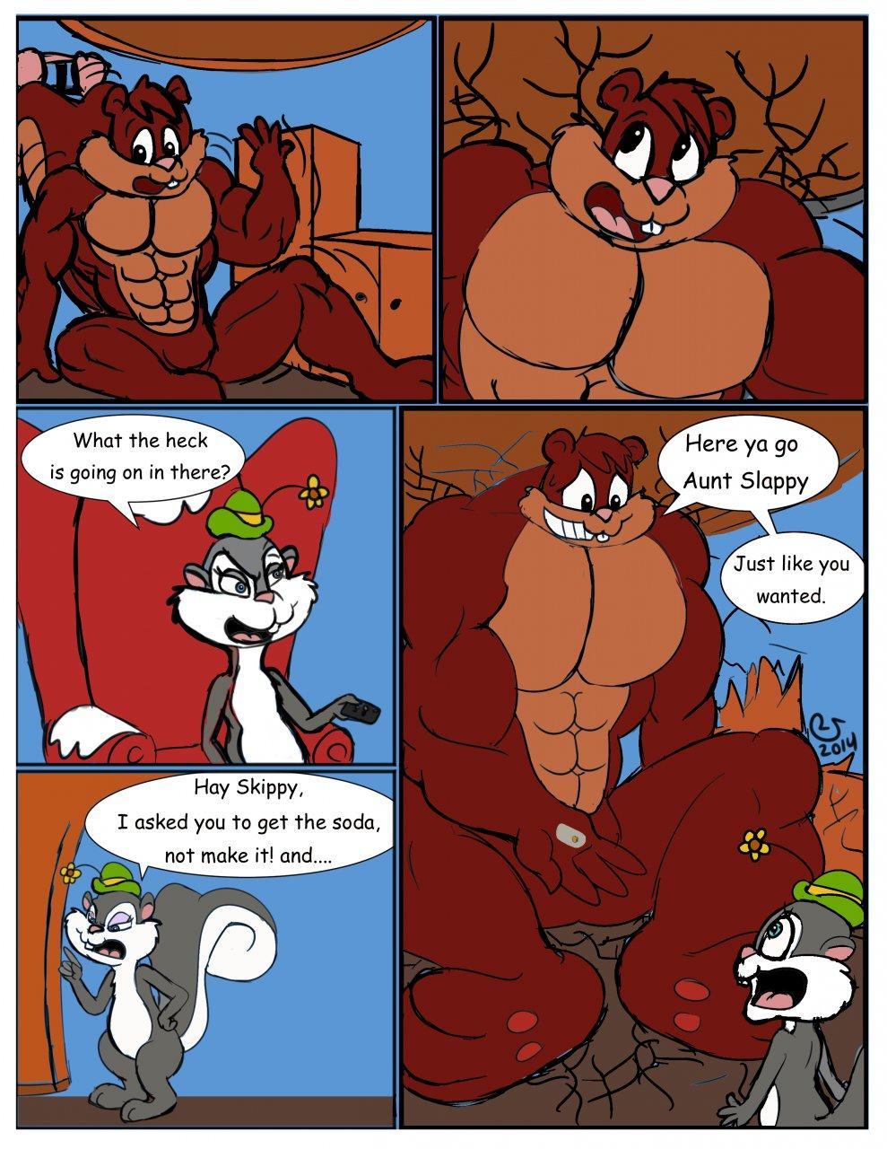 Super Sized Squirrel Page 4/5 By CaseyLJones