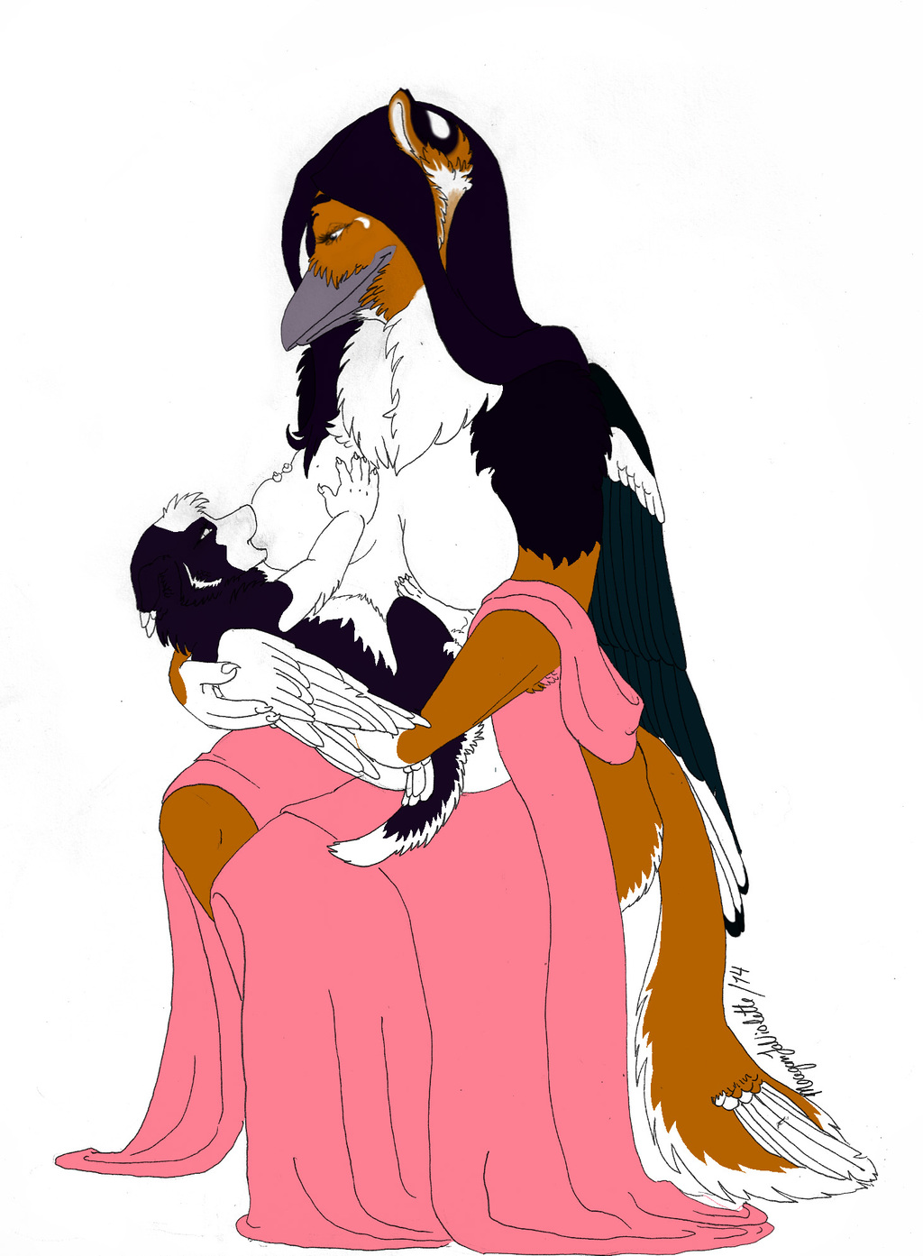 Most recent image: .Feelings Maternal.WIP.