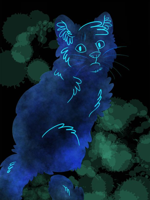 glowy fluff n stuff