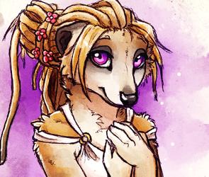 Flowery Meerkat - Sketch