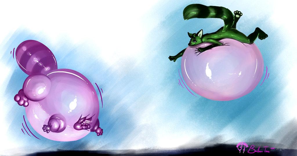 Bubbles and Bouncies