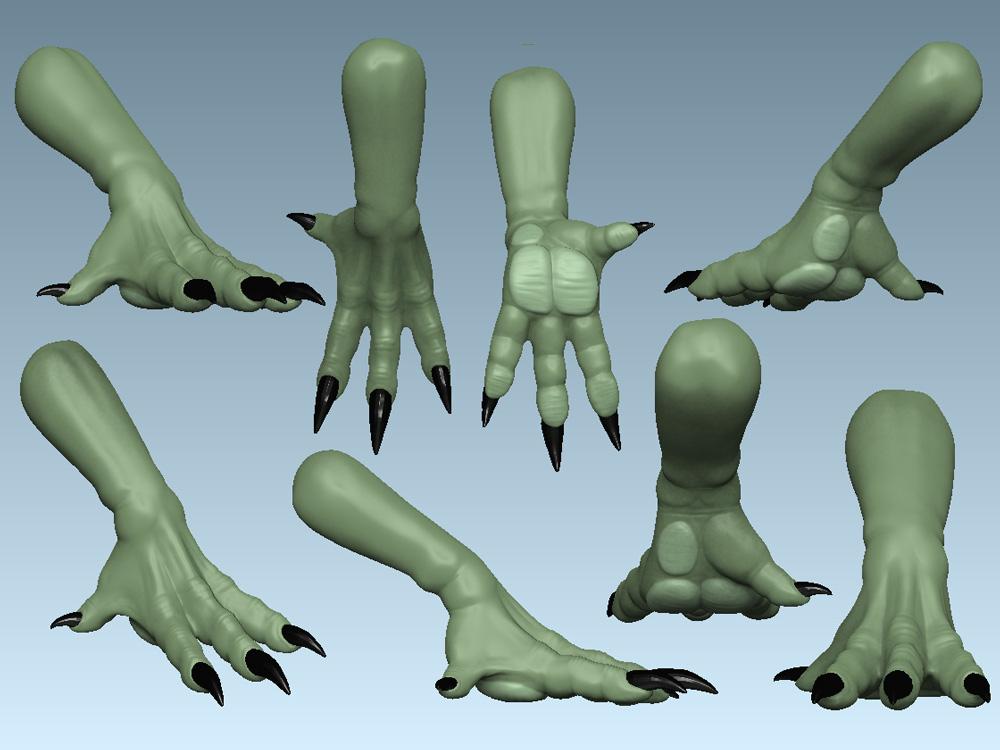 Dragon hand reference