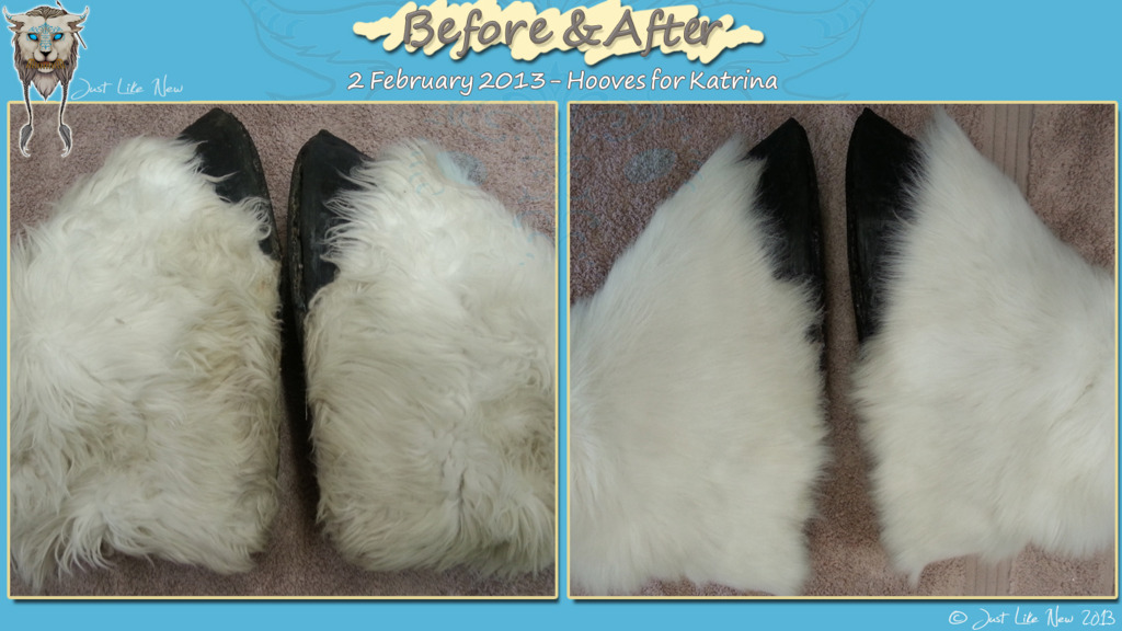 Most recent image: Clean and Restoration for Malu - Feet