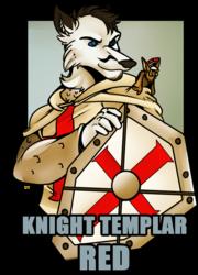 Knight Templar Red
