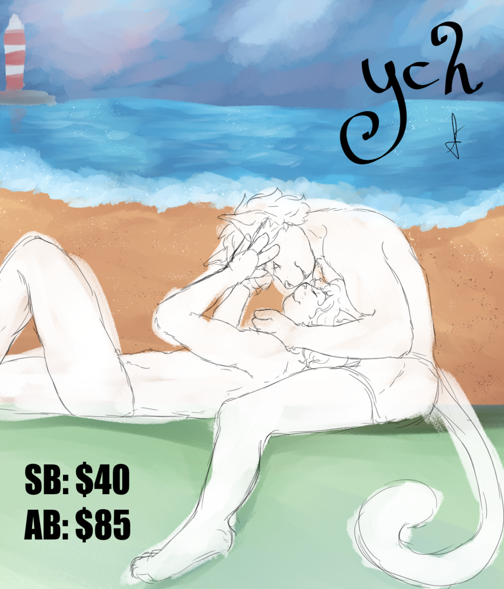 OPEN YCH AUCTION - Unrestrained Summer Love