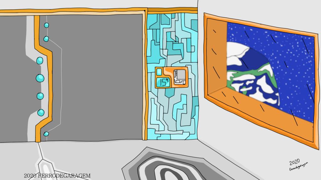 Featured image: Spaceship