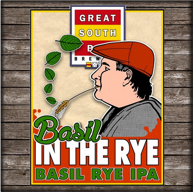 Basil In The Rye IPA