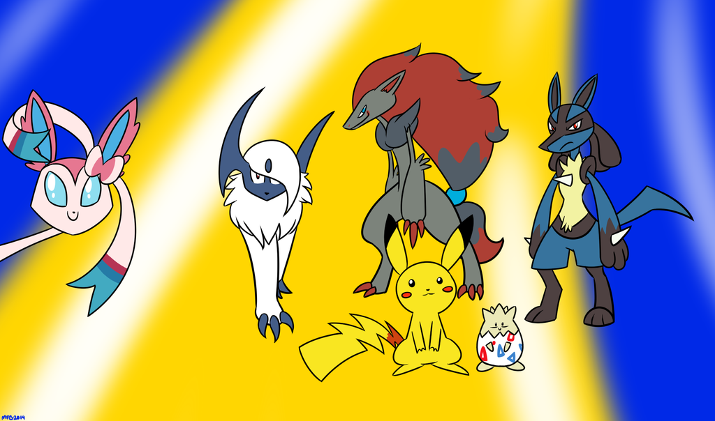 Faces of Different Pokemon Generations