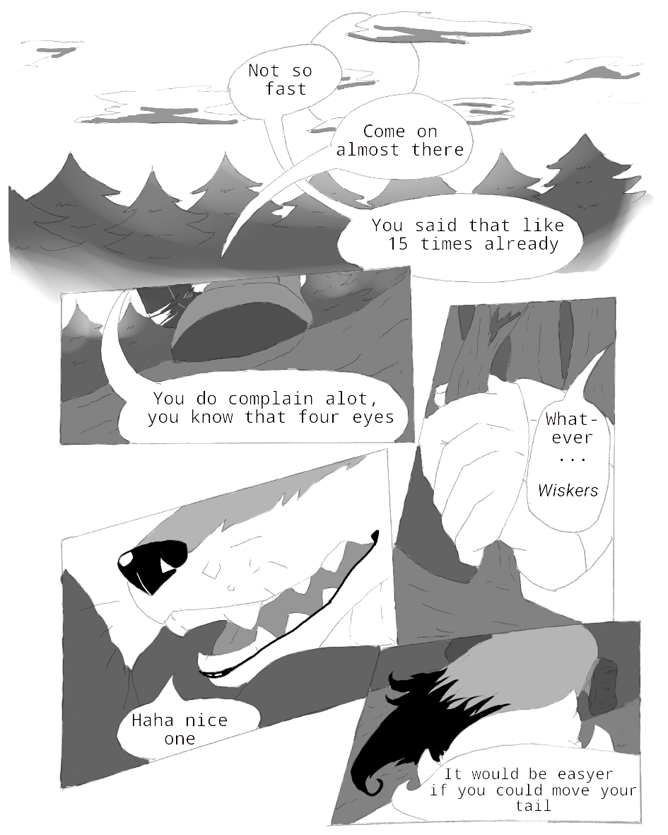 Most recent image: New comic (fist page)