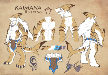 Introducing Kaimana the Tiger Shark