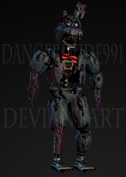 Withered Nightmare Bonnie