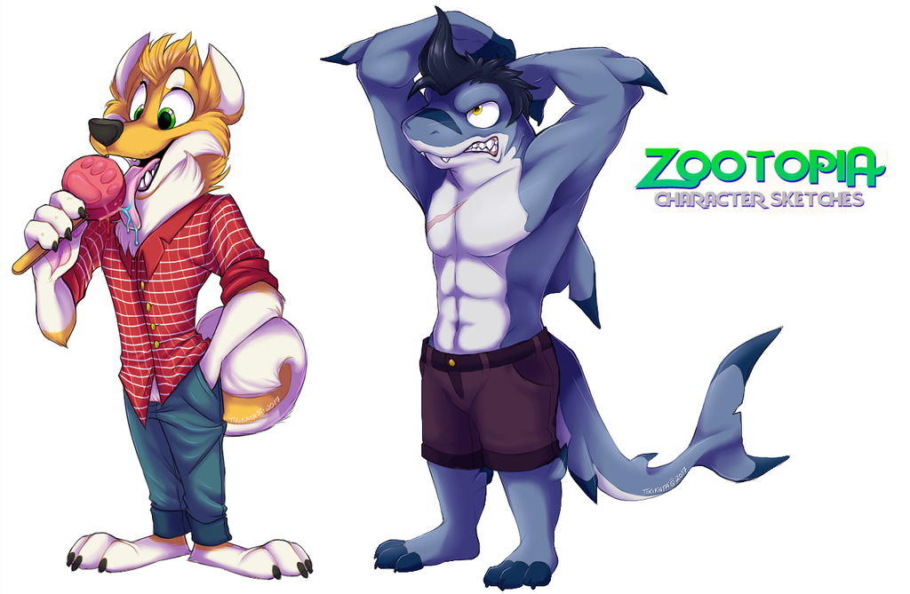 Zootopia Sketches 12 (Commissions)