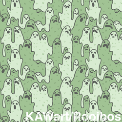Gooey Ghost Pattern