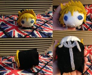 Kingdom Hearts Roxas tsum - made for myself