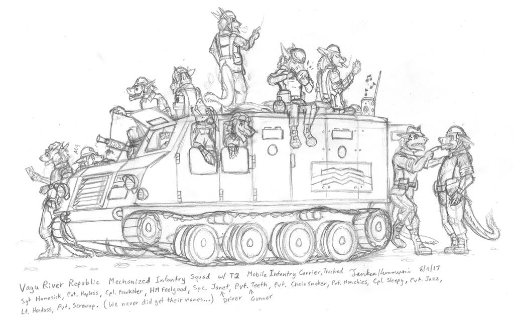 VRR - Sergal Mechanized Infantry Squad