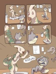 Parasaurolophus Pranks [comic]