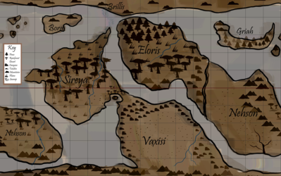 Map of Nirvae