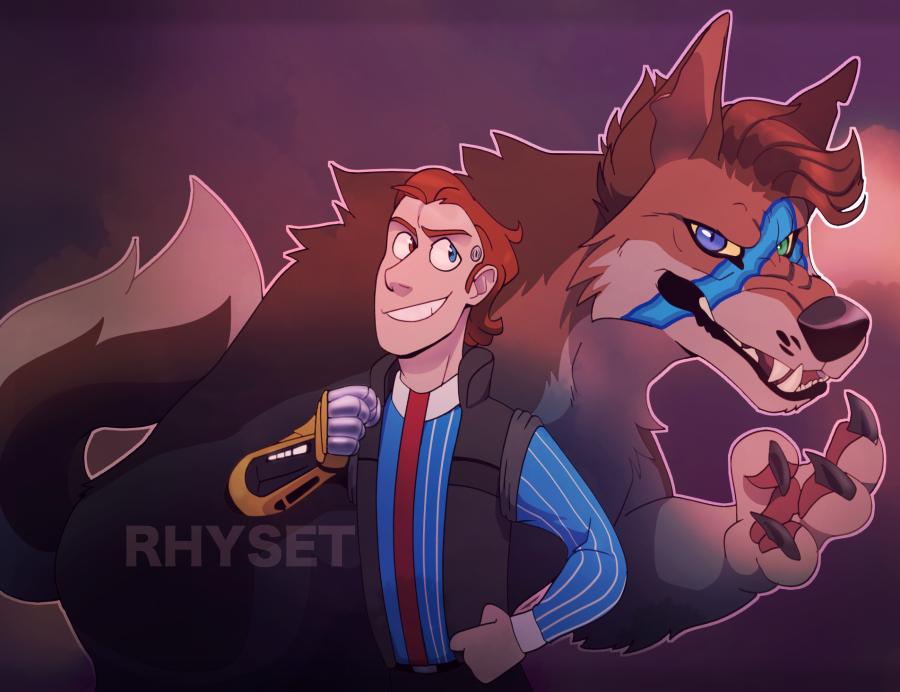 Hyperion Werewolf