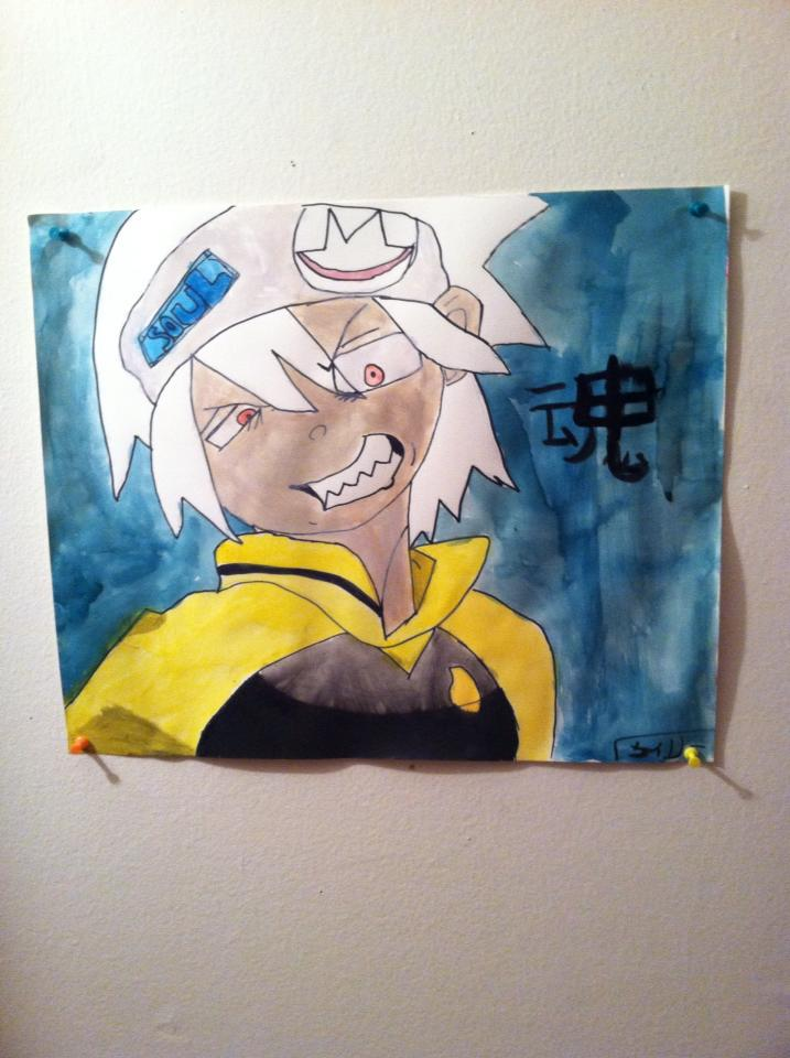 Soul Eater water color