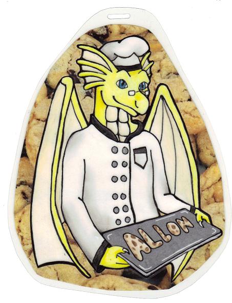 Allon Cookie Chef Badge