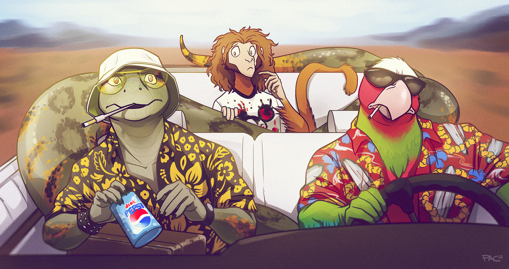 COMMISSION - Fear & Loathing