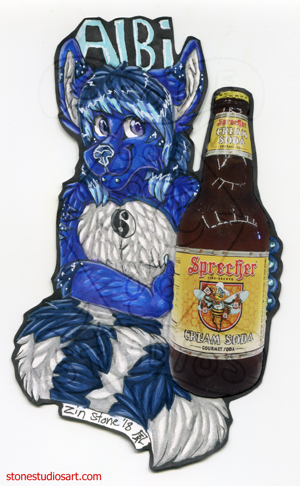 Albi Drink Badge - AC2018