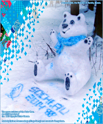 Sochi Olympics 2014 Talisman - The Polar Bear