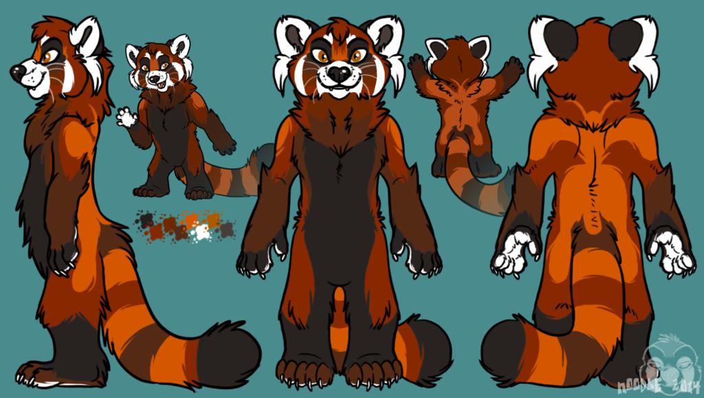 Tenzing Red Panda Character Sheet