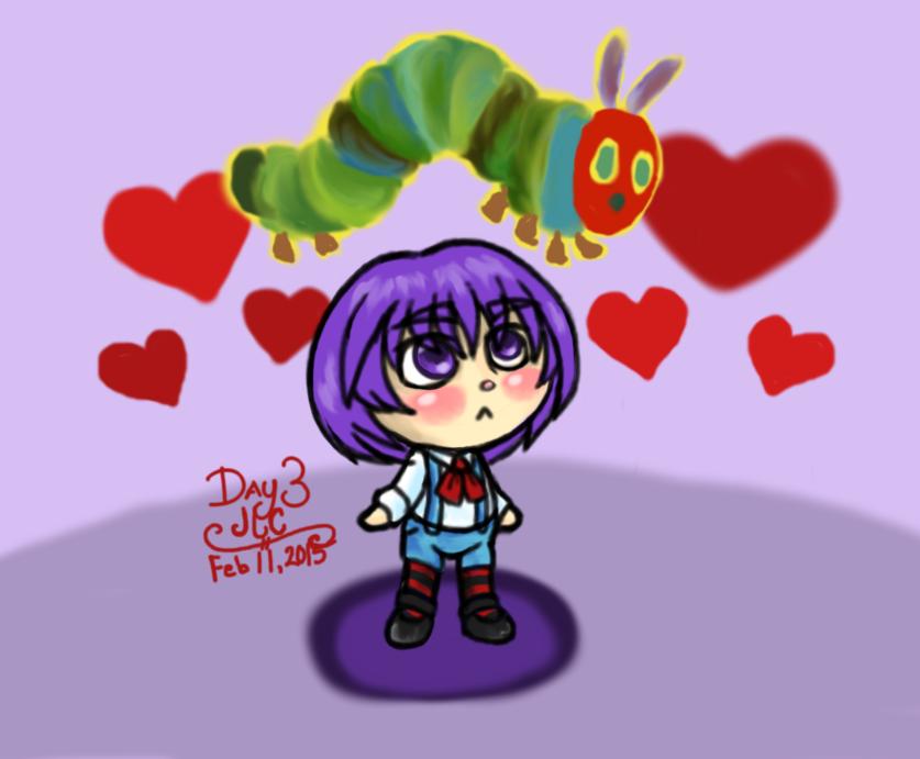 OC Art R1 3 - Cute Little GrapeHead