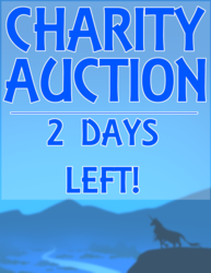 PETER S. BEAGLE CHARITY AUCTION - 2 DAYS LEFT!