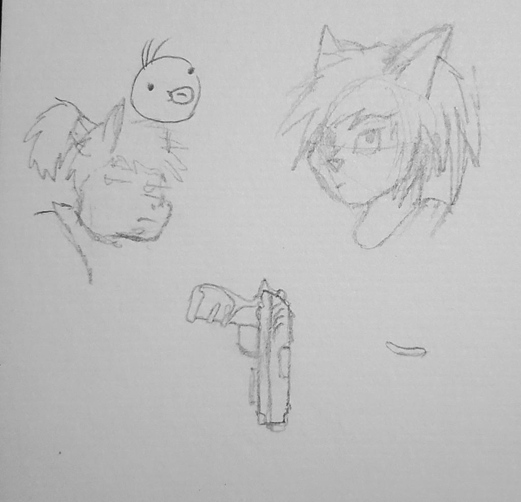 Kei and Raik Sketch