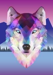 Geometric vector wolf